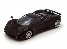 "Motor Max Pagani Zonda C12 diecast 1:24 scale 7"" model Black M90"
