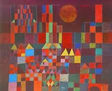Paul Klee Burg und Sonne Poster Kunstdruck Bild 48x60cm