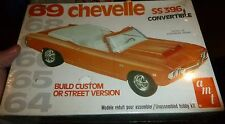AMT 1969 CHEVELLE CONVERTIBLE COUNTDOWN SERIES 1/25 Model Car MOUNTAIN FS