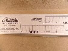 New 1994 Galaxie Limited 1:24-1:25 Model 44 Foot Tri Axle Gooseneck Trailer
