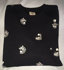 Vans Disney Cheshire Cat Sweatshirt Crew Neck Mens XLarge - Glows