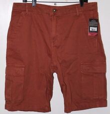 NWT Men's GRAMICCI Legion Cargo Shorts in Rocky Brown Size 36 UPF 50 Protection