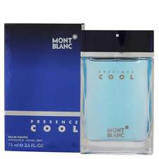 Mont Blanc Presence Cool EDT for Men 75 ml  | Genuine Mont Blanc Men's Perfume