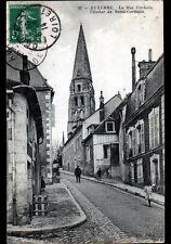 AUXERRE (89) RESIDENCES & CLOCHER , Rue COCHOIS animée en 1914