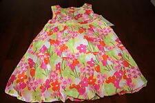 NWT • GYMBOREE Baby Girl's Tea Time Afternoon Bow Flower Bubble Dress 2T
