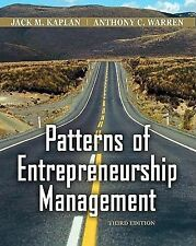 Patterns of Entrepreneurship Management (Wiley)