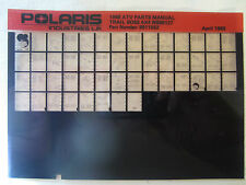 1988 Polaris Trail Boss 4x4 ATV Microfiche Parts Catalog W888127