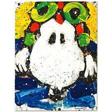 """ACE FACE (SNOOPY)"" by TOM EVERHART LE PEANUTS LITHOGRAPH! VERY HARD TO FIND"