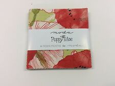 "Poppy Mae by Robin Pickens for Moda  - fabric Charm Pack - 5"" squares"