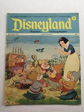 1972 Disneyland Comics Magazine No 32 Snow White and 7 Dwarfs Cover Nice
