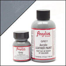 New Angelus Brand Acrylic Leather Paint for Shoes / Sneakers - Grey - 1oz