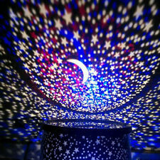 Starry Star LED Night Light Sky Cosmos Master Projector Kid's Bedroom Gift Lamp