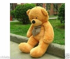 New Giant 80CM big cute light brown plush teddy bear huge soft bear ONLY COVER