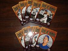 2008 Topps Baseball N.Y. Mets Ring of Honor Complete 10 Card Set