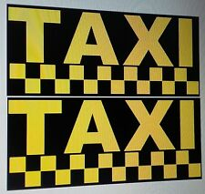 TAXI CAB/Stickers