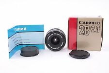 Canon 28 F/2.8 SLR Lens NOS - MANUAL FOCUS FD Mount Fits AE-1