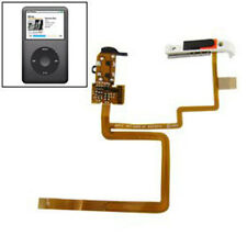 For iPod classic 6 6th 80GB 120GB Headphone Audio Jack Flex cable Black+Tools
