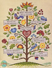 Cross Stitch Kit ~ Dimensions Vintage Style Family Tree #70-73817