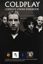 COLDPLAY Complete Chord Songbook Guitar Music Book NEW