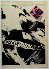THE PSYCHEDELIC FURS 1980 Poster Ad DEBUT ALBUM beautiful chaos tour