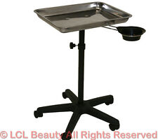Stainless Steel Service Tray Medical Doctor Dentist Tattoo Spa Salon Equipment