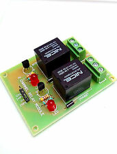 INSIGNIA LABS - TWO CHANNEL 2 CH 12V RELAY BOARD MODULE (CONTROLLABLE WITH 12V)