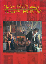 "JOHN MELLENCAMP ""WHENEVER WE WANTED "" P/V/G MUSIC BK COLLECTORS ITEM ON SALE"