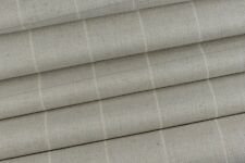 4.0m Laura Ashley  'Elmore Check' in Silver Upholstery Fabric