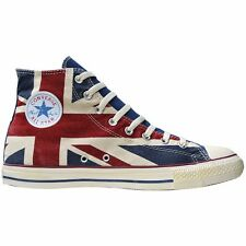 Converse All Star Chuck zapatos UE 36 UK 3,5 gb Inglaterra Flag punk Union Jack