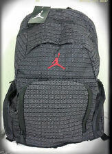 NWT NIKE AIR JORDAN YOUTH BOYS / MEN BLACK RED 365 DEUCE BACKPACK LAPTOP BAG