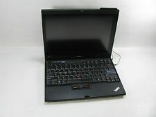 "Lenovo ThinkPad X200 12"" Laptop/Notebook 2.4GHZ Core 2 Duo 1GB DDR2 Grade C"