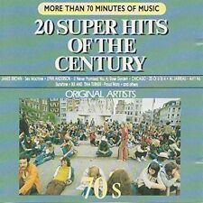 20 Super Hits of the Century-70's James Brown, Mungo Jerry, Lynn Anderson.. [CD]