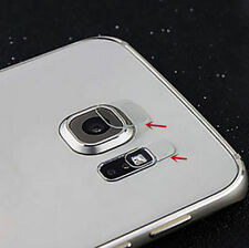 9H Camera Lens+Flash Tempered Glass Protector For Samsung  Galaxy S6  Edge