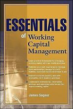 Essentials of Working Capital Management Sagner 047087998 978-0470879986 NEWEST!