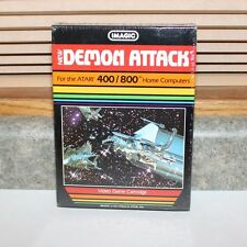 Atari 400/800 - Imagic Demon Attacks Game