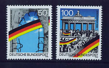 ALEMANIA/RFA WEST GERMANY 1990 MNH SC.1617/1618 Opening of Berlin Wall