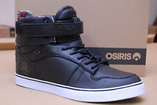 Osiris Rhyme Remix men skateboard size 11 New Black Hi Tops in Original Box