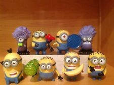 2013 McDonald's Toys - Despicable Me 2 Minions  - Complete Set of 8 Minions