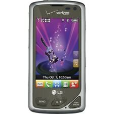 LG Chocolate Touch Cellular Phone VERIZON 3G Camera vx8575 Cell Purple & Silver