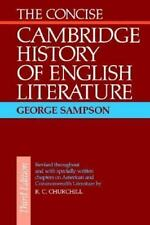 The Concise Cambridge History of English Literature-ExLibrary