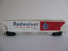 Vintage 1970s Tyco HO Scale Budweiser Beer Billboard Covered Hopper Car 359-A350