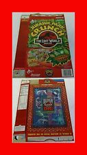 1997 JURASSIC PARK CRUNCH Cereal Box - THE LOST WORLD Collectors Edition GM