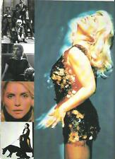 BLONDIE Debbie Harry button dress magazine PHOTO / Pin Up / Poster 11x8""