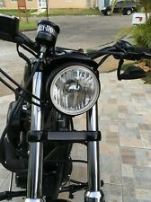 "HARLEY SPORTSTER  5-3/4"" REPLACEMENT HEADLIGHT WITH REPLACEABLE H4 BULB"