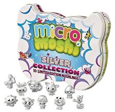 Moshi Monster Mirco Moshis Silver Collectors 10 Limited Edition Micro Moshlings