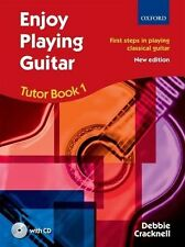 Enjoy Playing Guitar Tutor Book 1/CD by Debbie Cracknell -Same Day 1st Class P+P