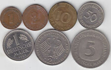 Germany -  Coin Set - 7 Different
