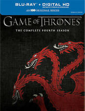 Game of Thrones Complete Season 4 Blu-ray + Bonus Disc Targaryen Cover Sealed