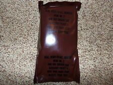 Vintage US Military MRE Menu No. 2 Ham and Chicken Loaf
