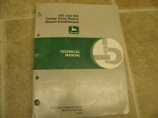John Deere 945 955 Rotary Mower Cond Technical Manual